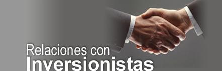 Subsite Relaciones con Inversionistas